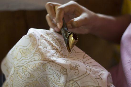 Узоры балийского батика