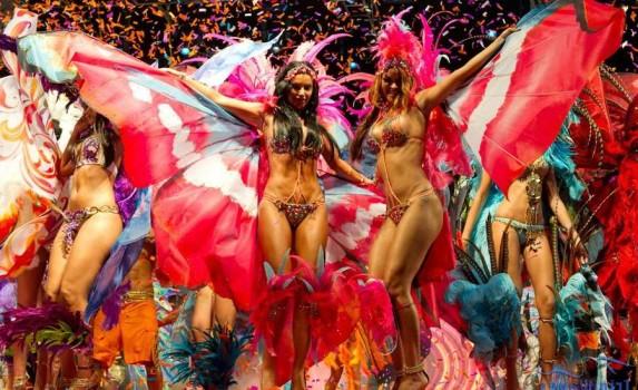 Karnaval v Trinidad i Tobago foto