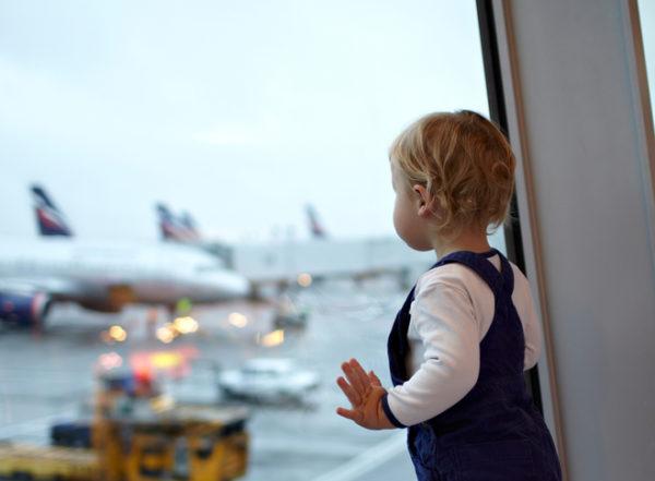 Как летать с ребенком