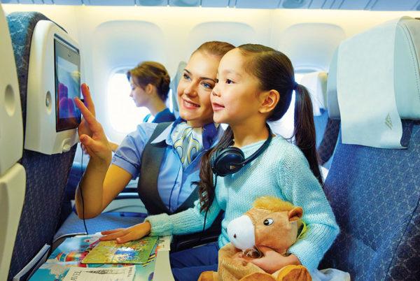 Как отправить ребенка одного самолетом за границу