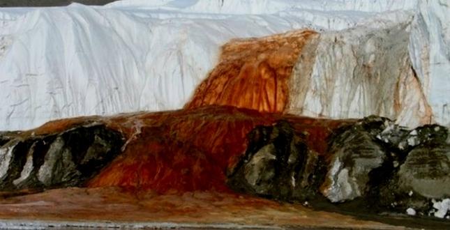 Кровоточащий ледник
