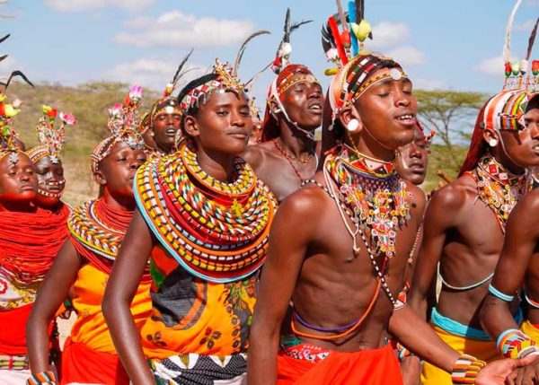 Африка. Масаи