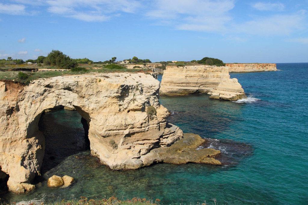 Coastal landscape in Apulia