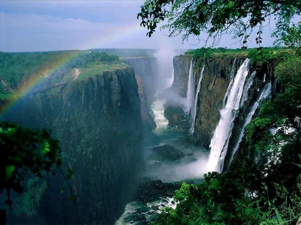 Южная Африка водопад Виктория