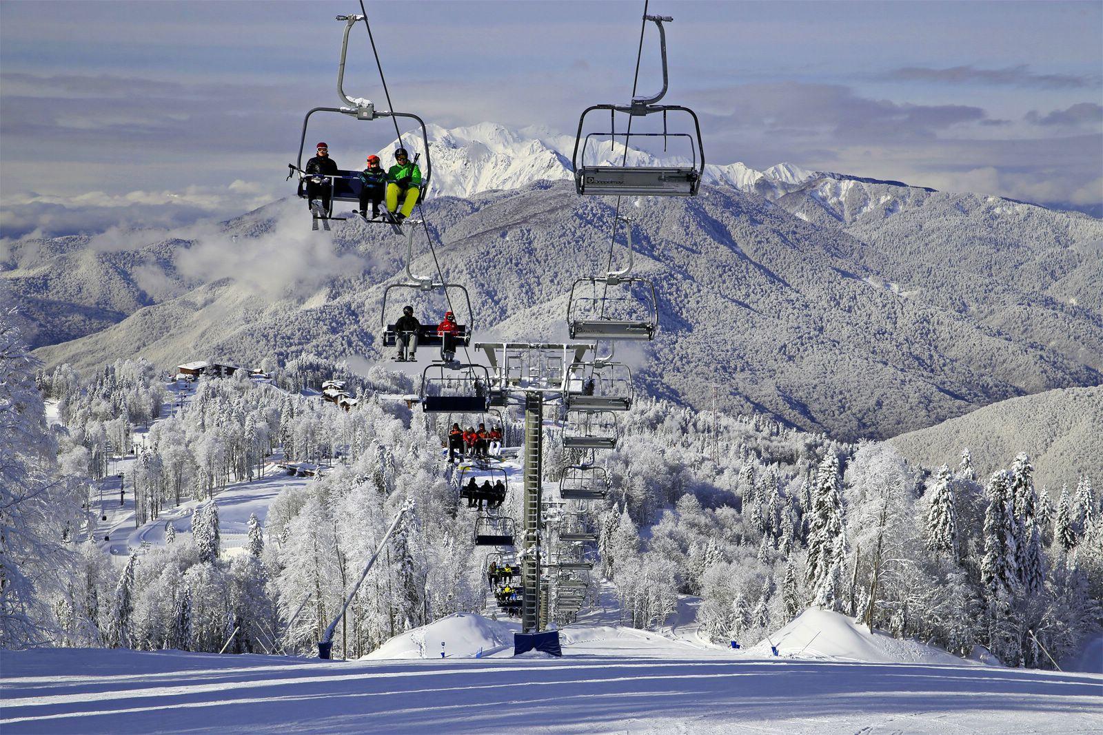многие горнолыжные курорты россии фото стрижкой