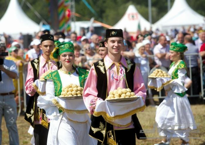 Татарстан: праздник полевых работ Сабантуй