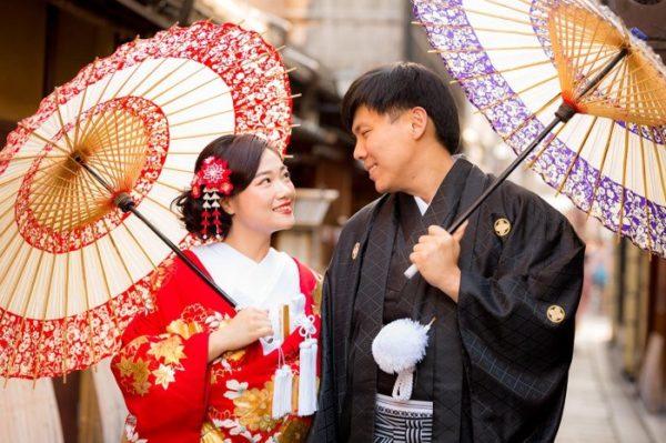 Япония: смена нарядов