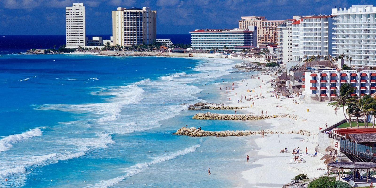 cancun shorelines