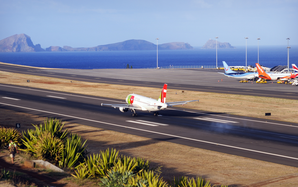 Международный аэропорт Криштиану Роналду, Фуншала, Португалия
