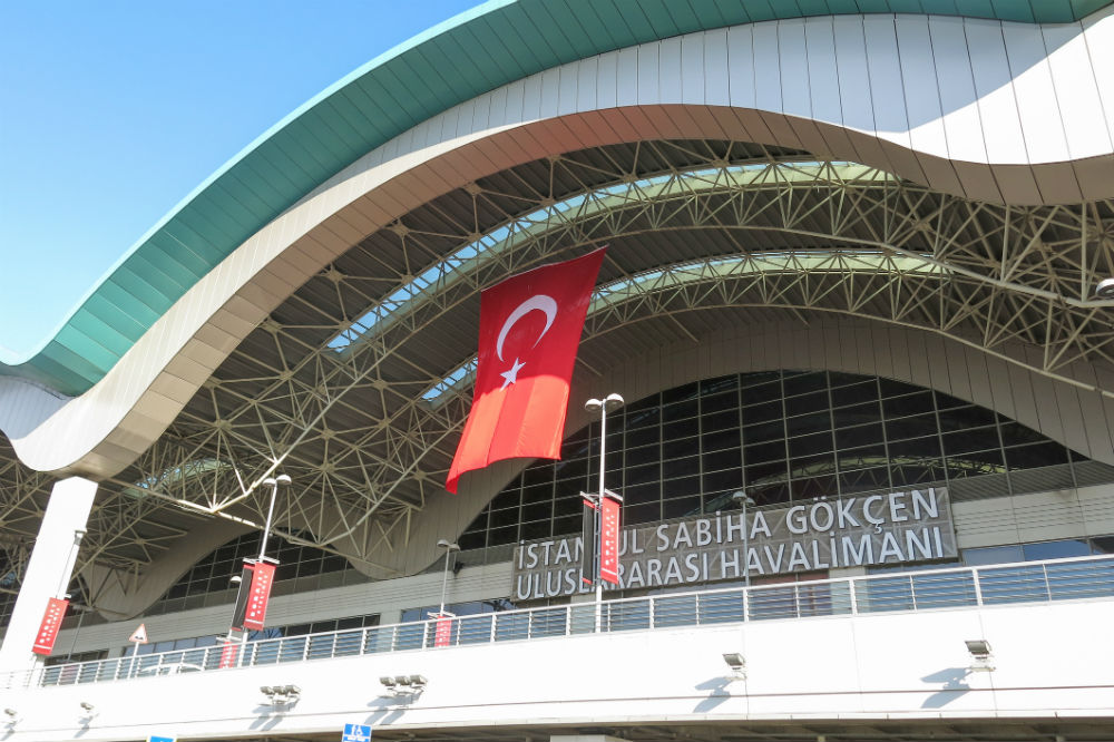 Аэропорт Стамбул имени Сабихи Гёкчен, Турция