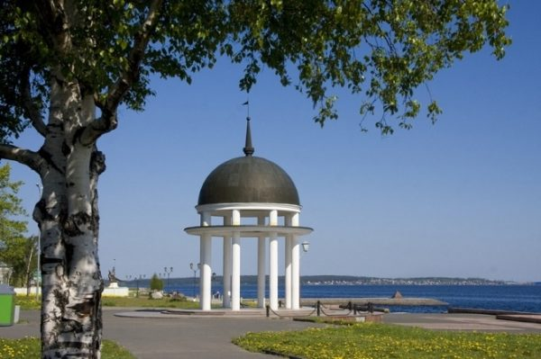 Петрозаводск Онежская набережная