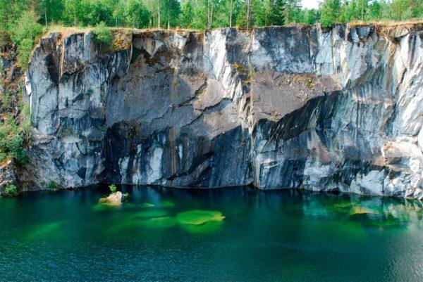 Мраморный каньон Рускеала