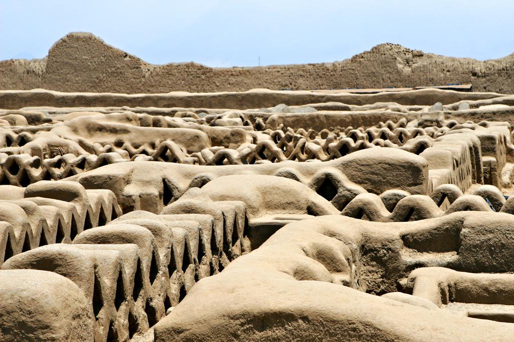 глиняный город Чан-Чан