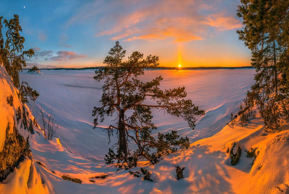 Путешествия по России. Где живёт зимняя сказка