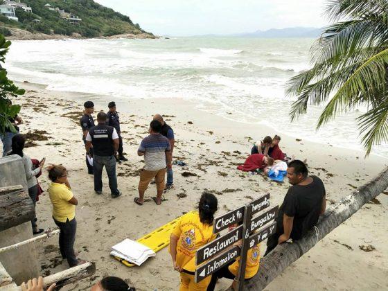 Turist iz Rossii utonul na Samui pervaya zhertva tajfuna Pabuk v Tailande 4