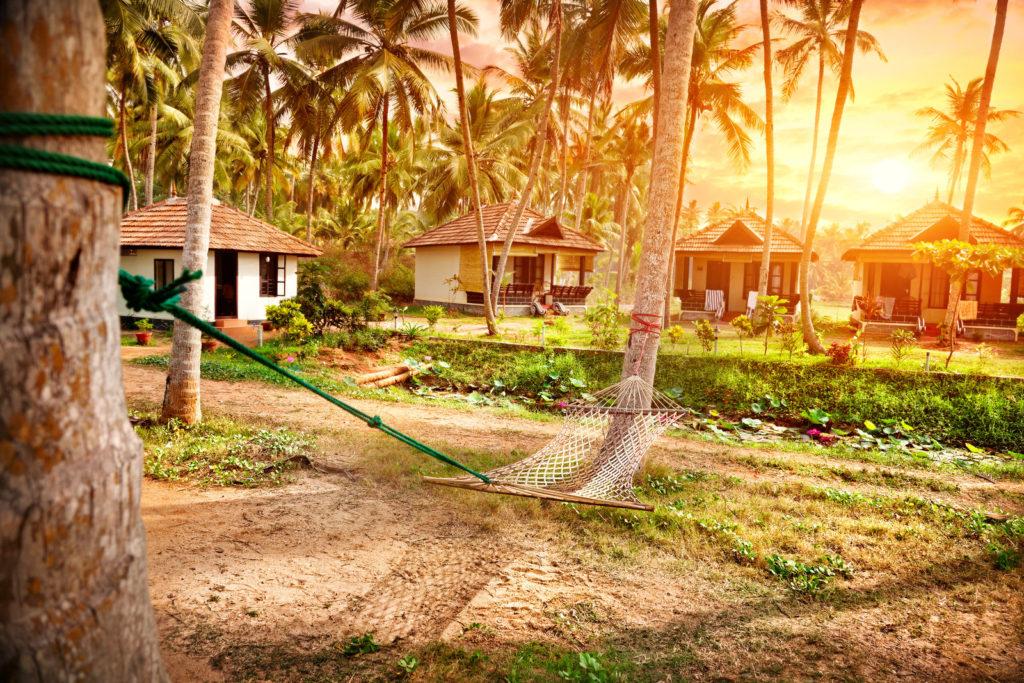 resort cottages in varkala kerala india