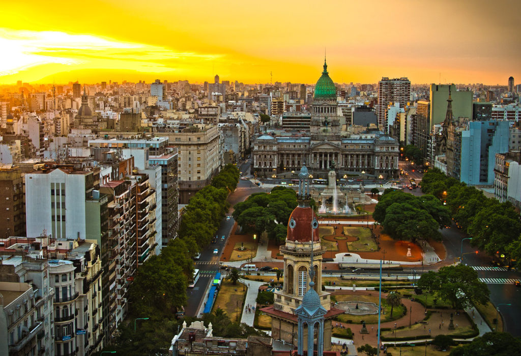 Провинция Буэнос-Айрес, Аргентина 2019 туристический