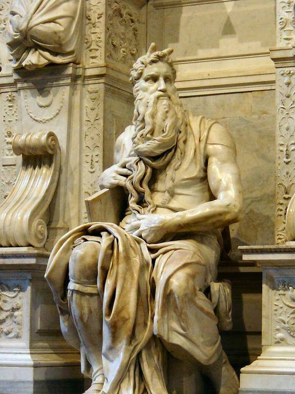 статуя Микеланджело «Моисей»