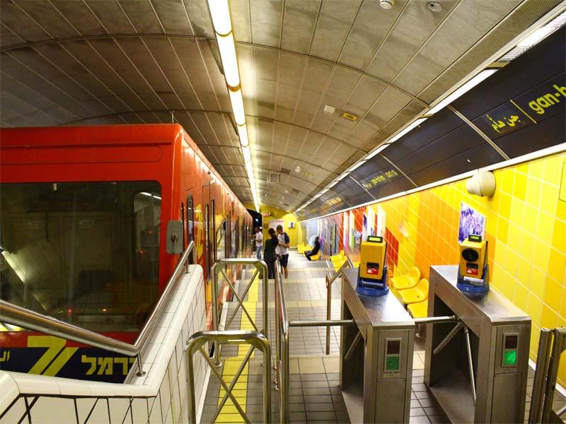 израиль метро