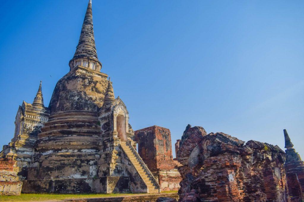 ayutthaya historical park old city ancient siam ayutthaya 1207797