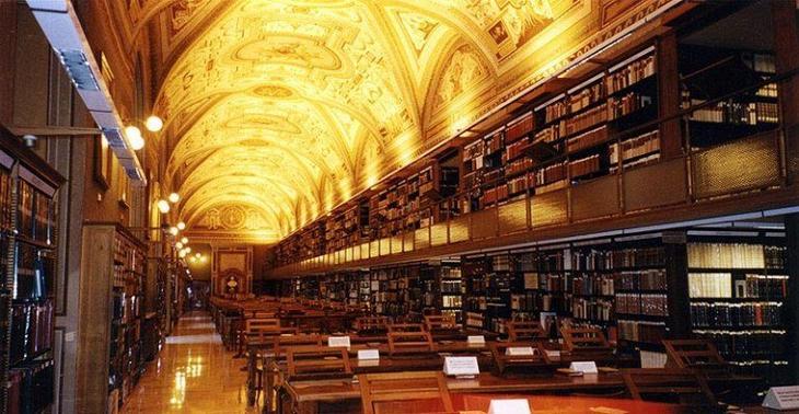 ватикан библиотека