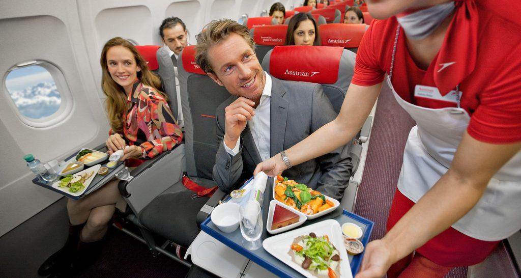 еда в полёте