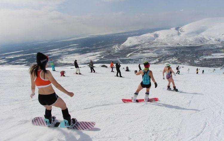 лыжи в мае