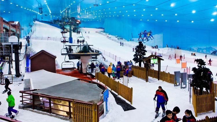 Рай для горнолыжников