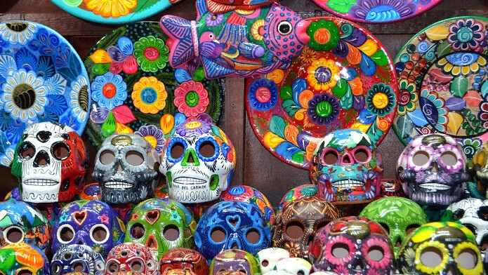черепа из мексики