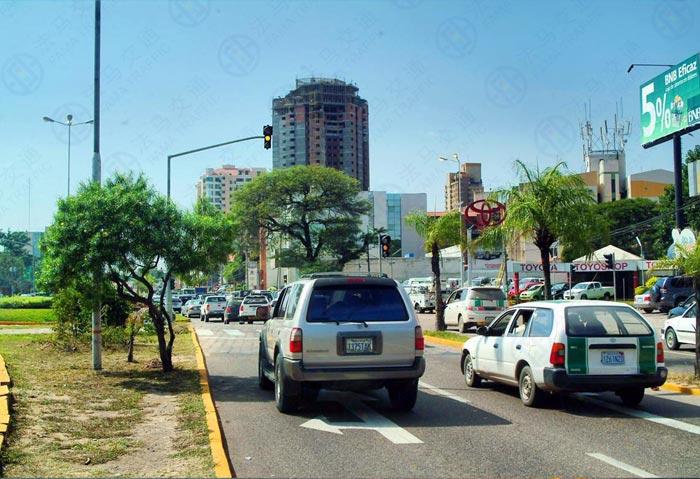 дорожное движение в Чили