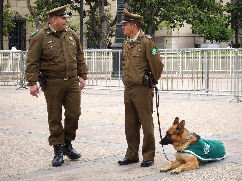 полиция в Чили