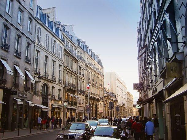 улиц Сен Оноре в Париже