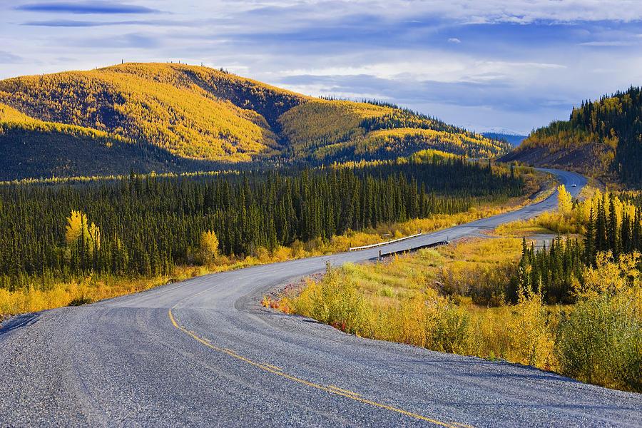 alaska highway near beaver creek yves