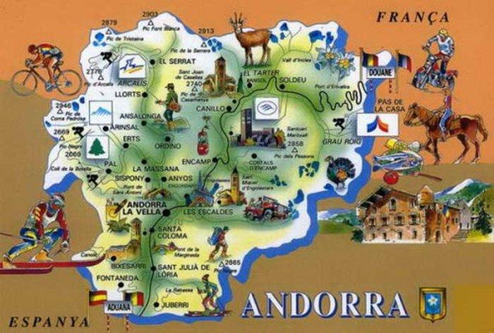 Андорра.