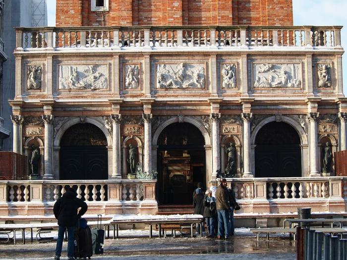 Идеальный день в Венеции. Лоджетта Сансовино