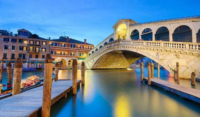 Идеальный день в Венеции. Мост Риальто