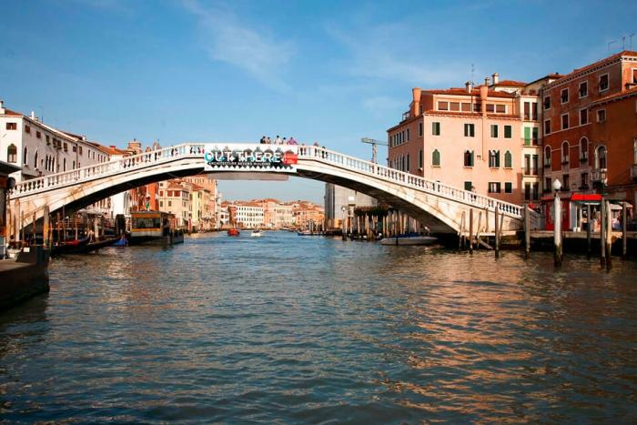 Идеальный день в Венеции. Мост Скальци