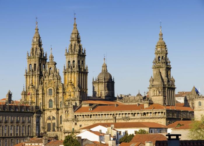 Кафедральный собор в Сантьяго де Компостела
