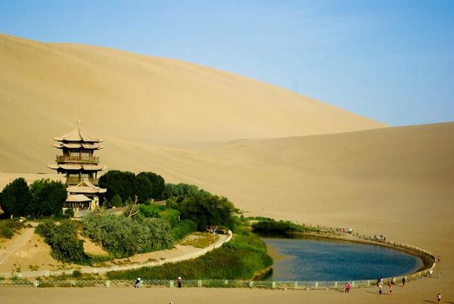 Китай Озеро Юэяцюань