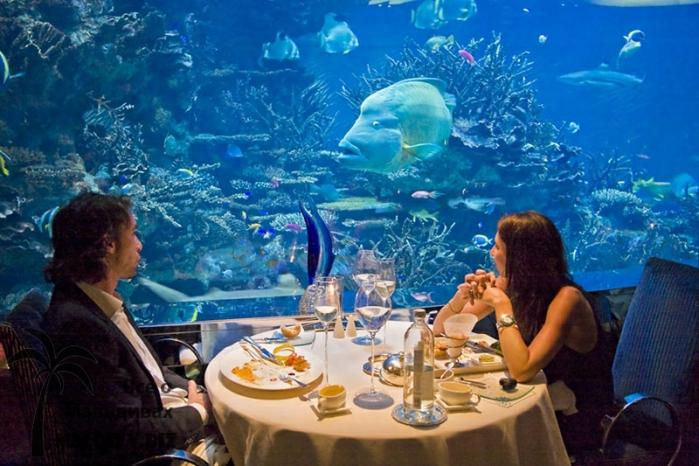 Ресторан под водой