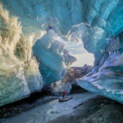 Скафтафетль национальный парк на юге Исландии