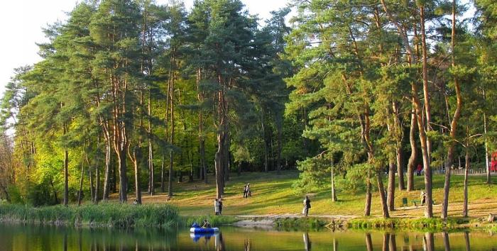 Интересные факты о Киеве парк Киева