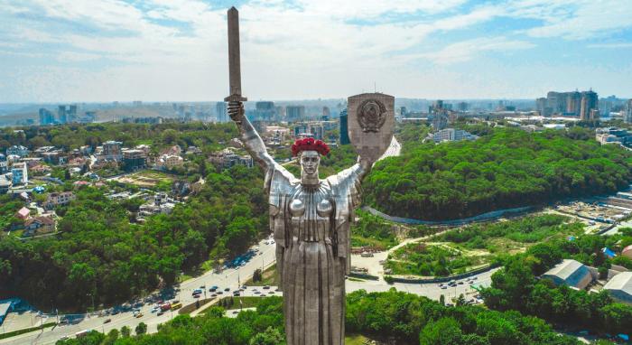 Интересные факты о Киеве Родина-мать
