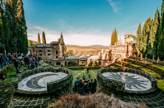 Ла Скарцуола — затерянный идеальный город в Италии