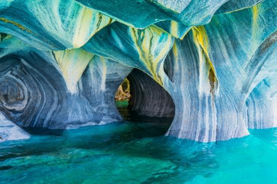 Мраморные пещеры Пуэрто Рио Транквило