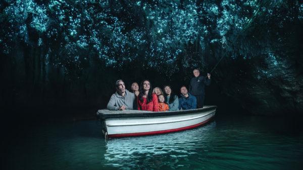 Пещера светлячков в Новой Зеландии