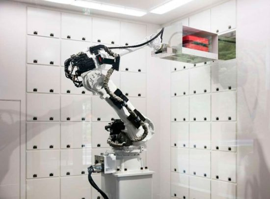 робот-гардеробщик