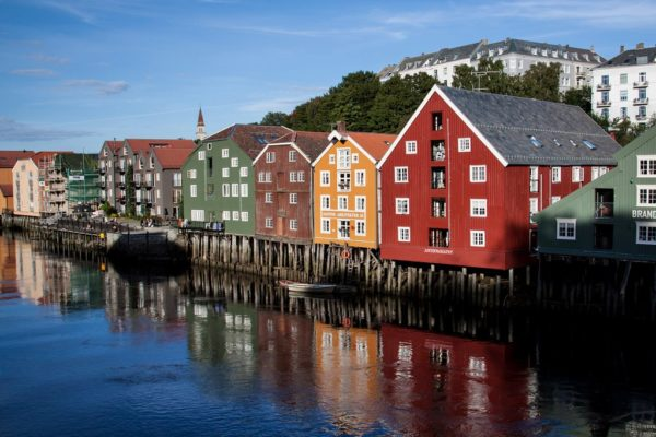 Достопримечательности Трондхейма. Норвегия